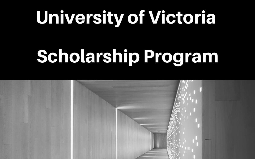 University of Victoria Scholarship announcement